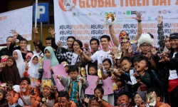 Perayaan Global Tiger Day 2016 di Purwokerto doc Biodiversity Society